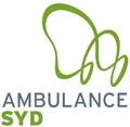 A logo for Ambulance Syd Denmark