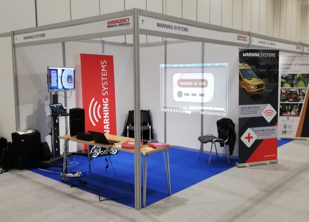 Our stand at The Emergency Medical Services Show 2019
