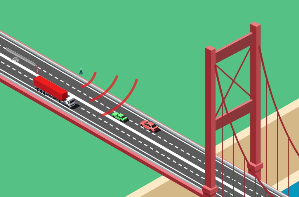 Storebæltsbroen forsøg